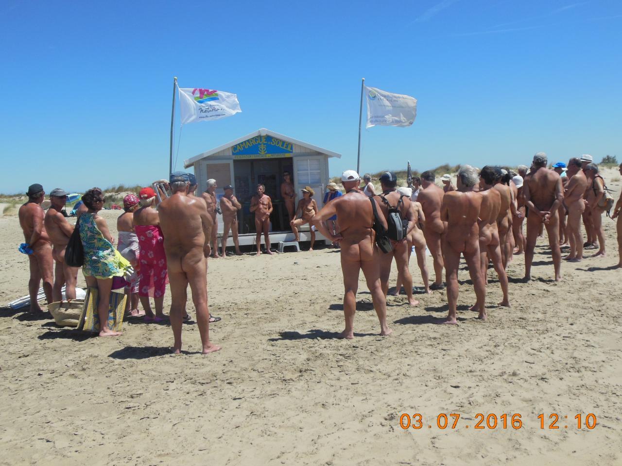 Galerie de photos de plage nudiste